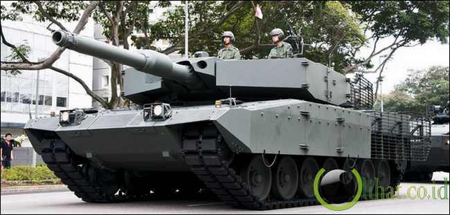 Main Battle Tank (MBT) Leopard