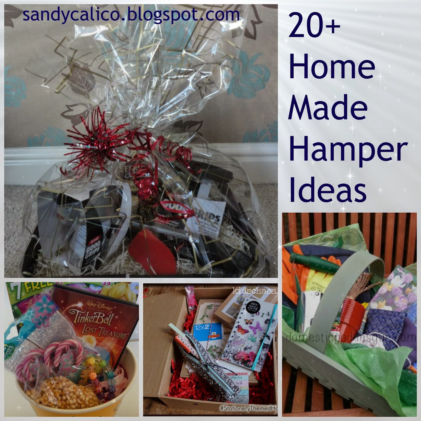 Make Your Own Food Gift Basket