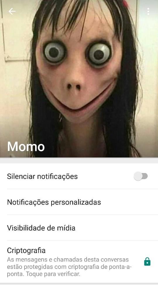 momo whatsapp lenda misterio  fejf