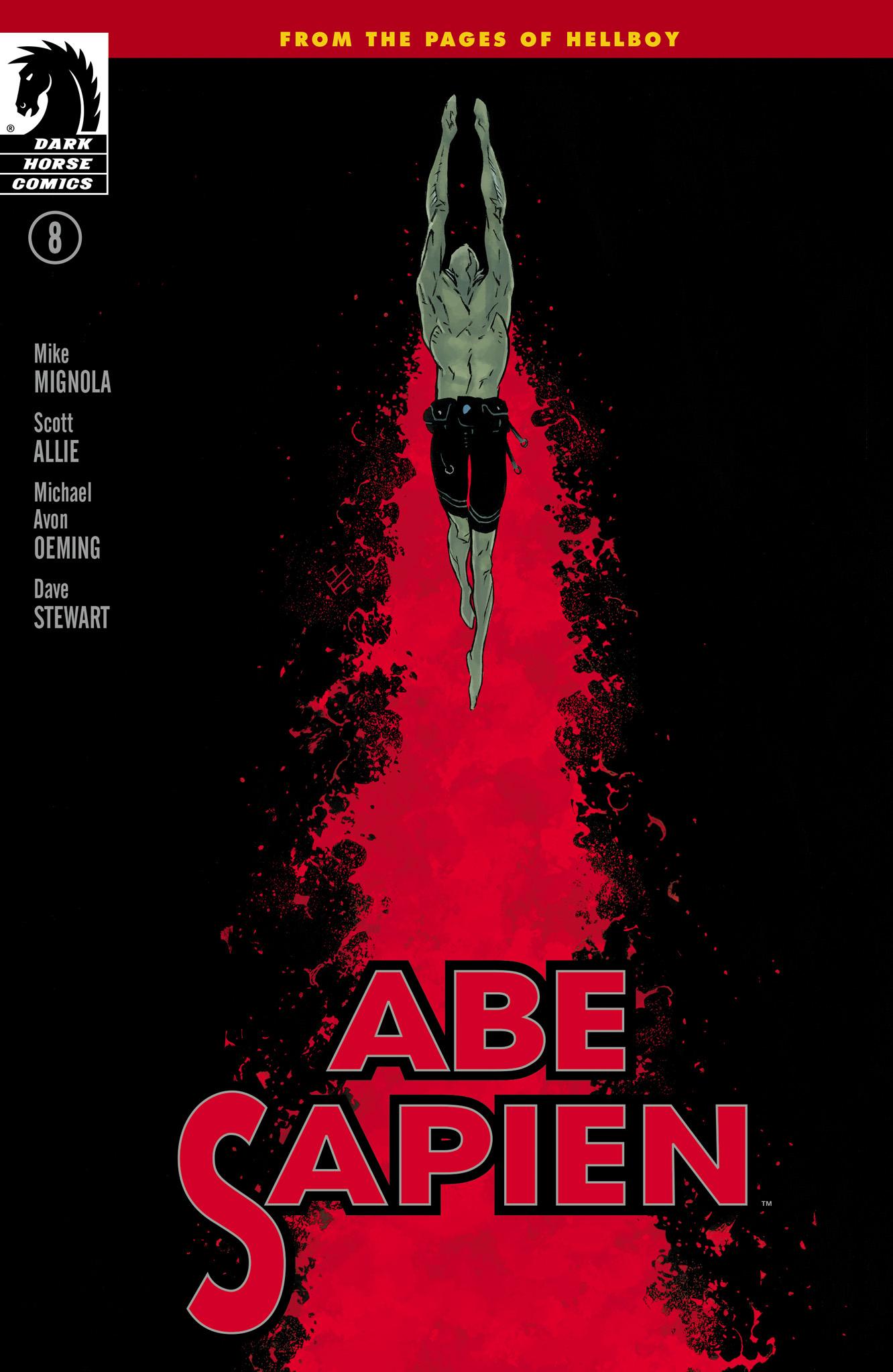 Read online Abe Sapien comic -  Issue #8 - 1