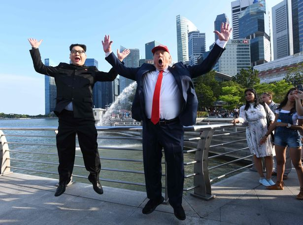 Kim Jong Un impersonator detained in Singapore and warned to stay away from North Korea and US summit
