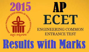 AP ECET-2016 Results with Marks