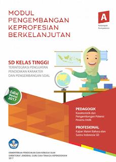 Download Modul Guru Pembelajar PKB 2017 Guru SD Kelas Atas