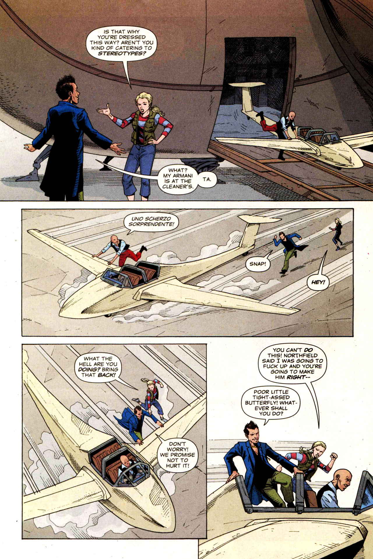 Read online Air comic -  Issue #5 - 16