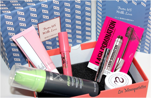 Birchbox septembre 2015 From US with love - Les Mousquetettes©