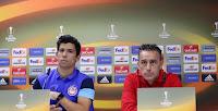 Η συνέντευξη τύπου των Μπέντο - Μάρτινς για το ματς του Ολυμπιακού με την Αστάνα