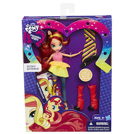 MLP Equestria Girls Rainbow Rocks Dress Up Sunset Shimmer Doll