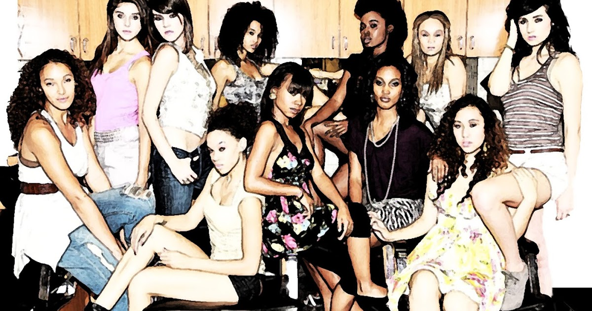 Franzine Beauty Fashion Show Program Design 2010