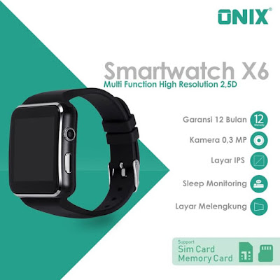 Sleep Monitoring dengan Onix Smartwatch X6