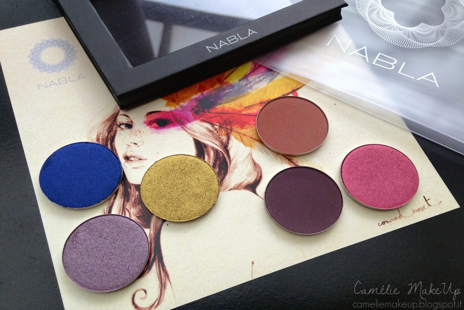 Nabla Cosmetics Genesis Collection Preview: swatches, comparazioni & prime impressioni
