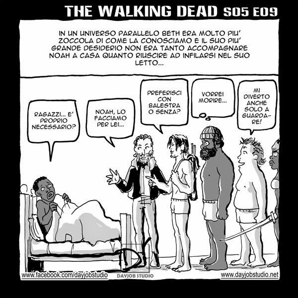 The Walking Dead - 5x09 -Non è finita (Dayjob Studio)