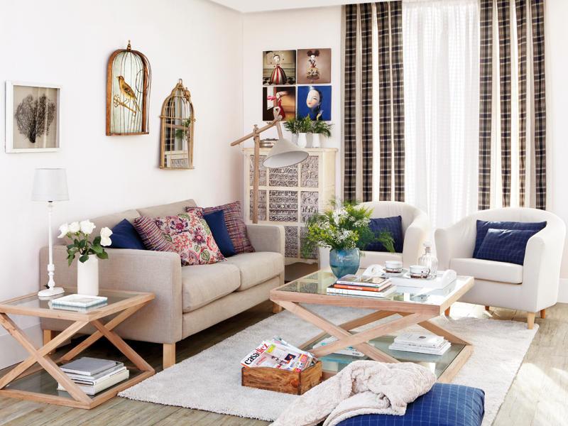 Decoraconmar a algunas ideas para decorar paredes - Casa diez salones ...