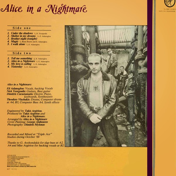 ALICE IN A NIGHMARE (1988) back
