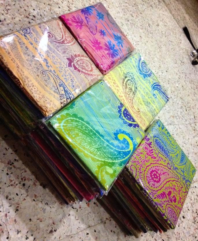Koleksi Batik Kelantan: Kain Pasang Cotton