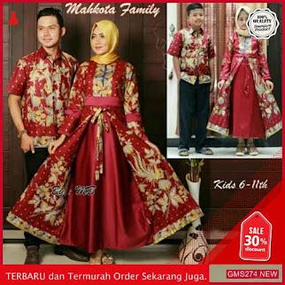 GMS274 BTKSS274B62 Batik Couple Keluarga Batik Pasangan Dropship SK1947994866