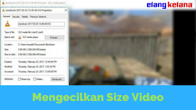 Menjadi seorang editor video atau content creator di youtube tentu memerlukan pekerjaan e Tutorial Mengecilkan Ukuran Video Tanpa Mengurangi Kualitas