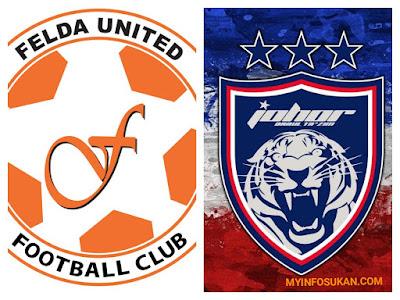 Live Streaming Felda United vs JDT FC Liga Super 28 September 2017