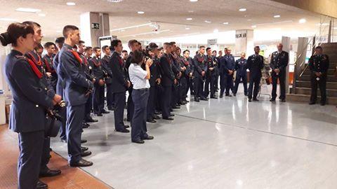 Visita de la Academia General del Aire (AGA) a la BUM.