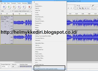 Cara Menghilangkan Suara Vokal pada Lagu