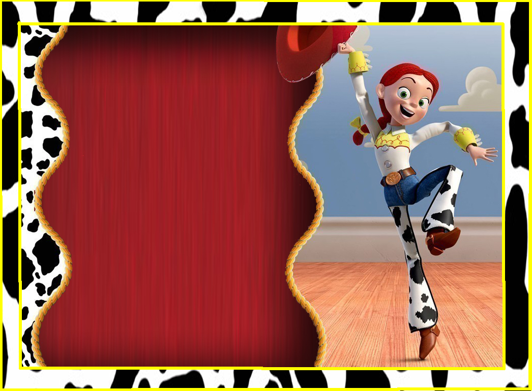 Jessie, Toy Story: Free Printable Kit. | Oh My Fiesta! in english