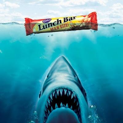 fotomontaje tiburón