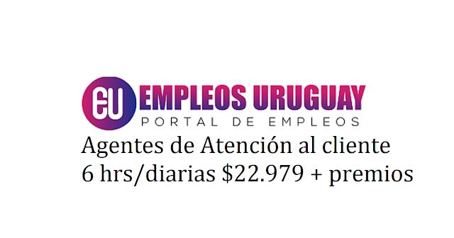 Agentes de Atención al cliente 6 hrs/diarias $22.979 + premios