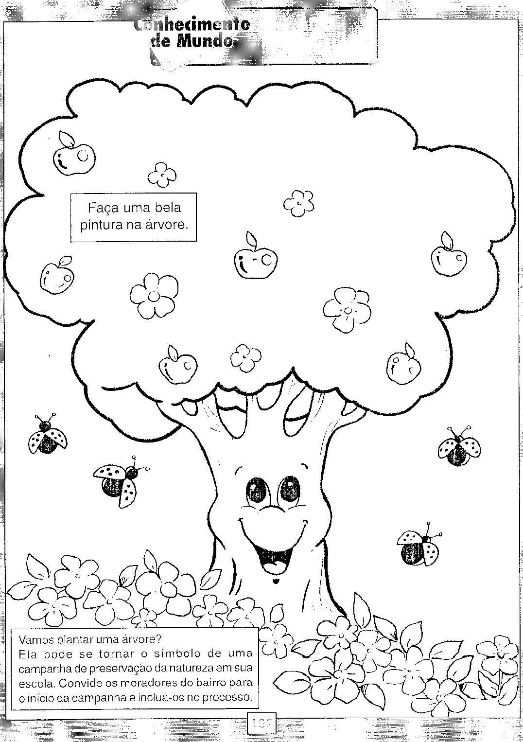Atividades para trabalhar o Dia da Árvore — SÓ ESCOLA