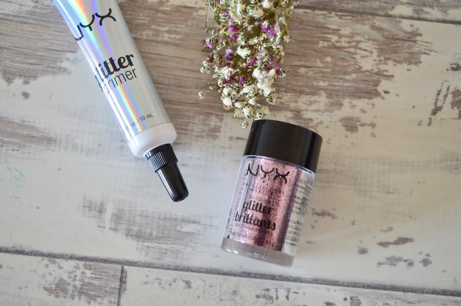 NYX Cosmetics Glitter primer review