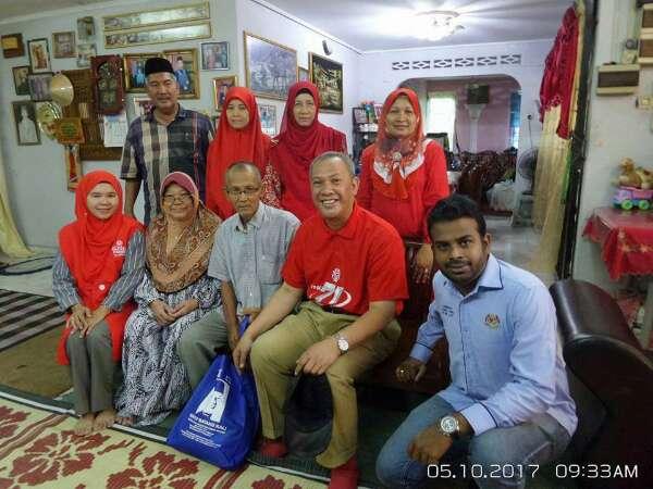 Kampung Koskan : Program Ziarah Kasih Ke Rumah Puan Azizah