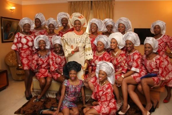 tolu4 Photos From Late Pastor Bimbos Daughter, Tolu Odukoya s Traditional Wedding
