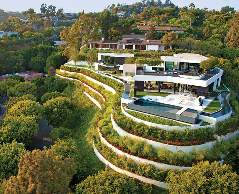 Modern Mansion Exterior if it's hip, it's here (archives): part one: modern mansion with