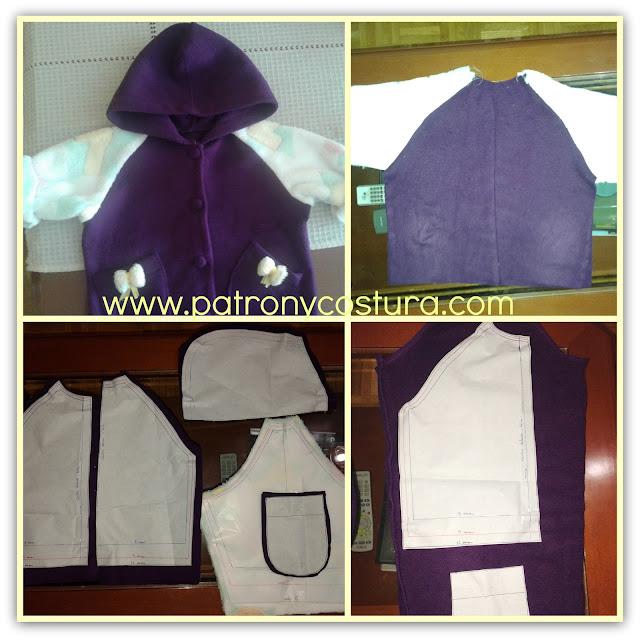 http://www.patronycostura.com/2015/11/transformar-un-polar-en-chaqueta-bebe.html