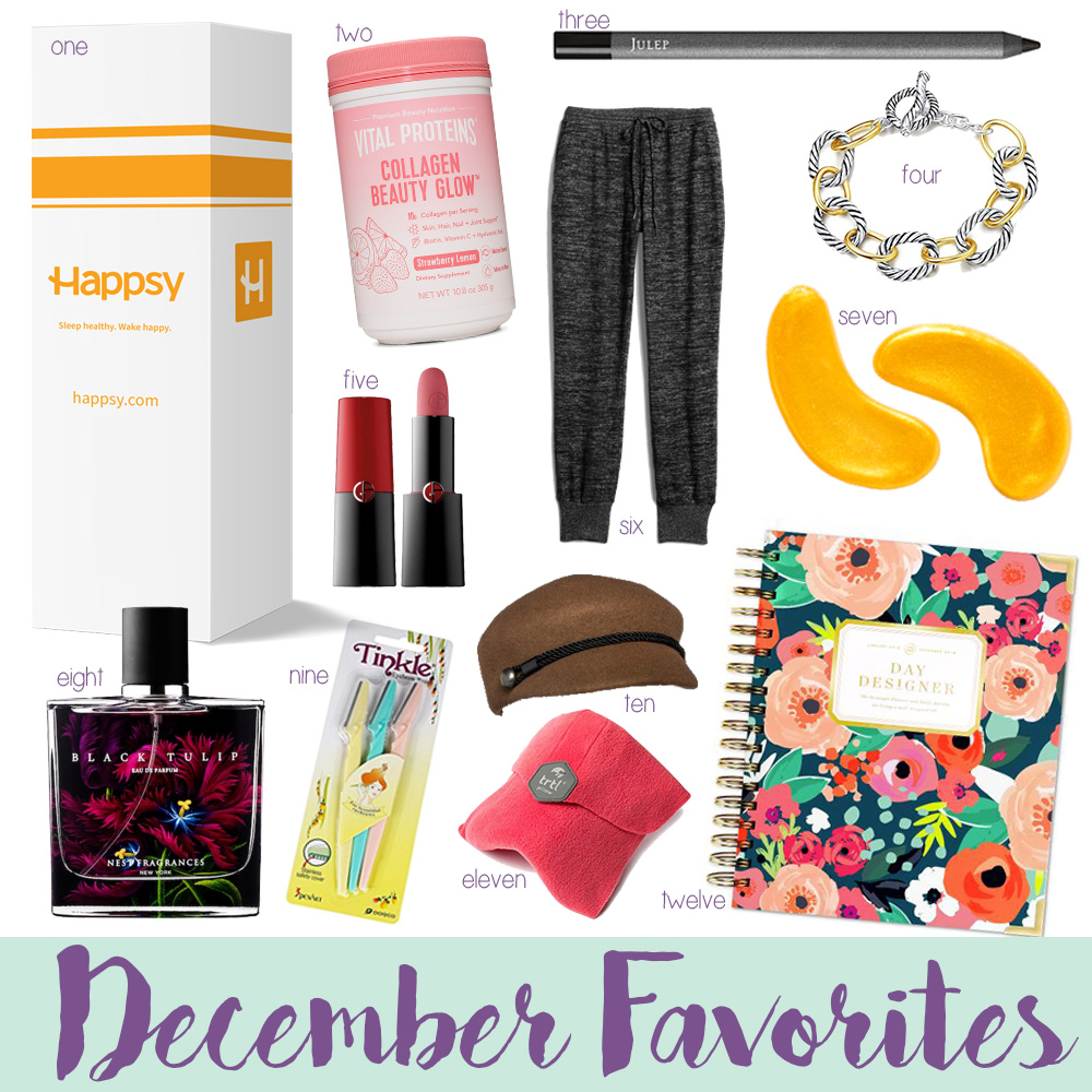 Blogger Amanda's OK shares her favorite purchases from December