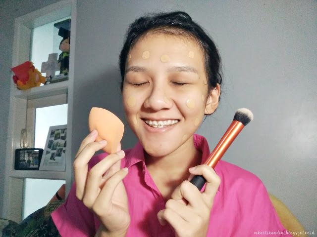 Cilla review Real Techniques Brush dan Sponge