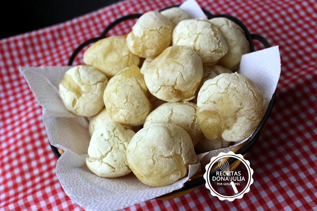 """""""Pão de batata inglesa (falso pão de queijo)"""""""