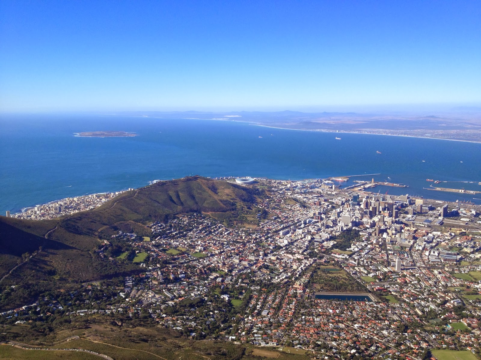 Cape Town - Views from Table Mountain