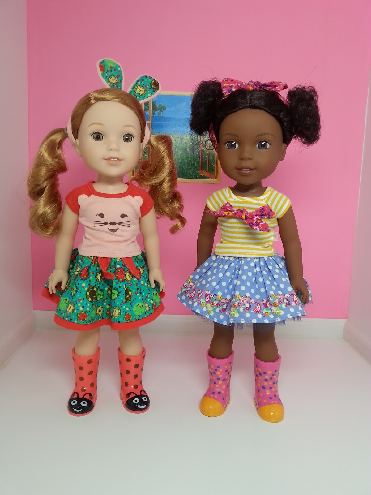 gigi 39 s doll and craft creations clothing and shoes for new american girl dolls the wellie. Black Bedroom Furniture Sets. Home Design Ideas