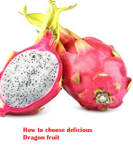 How to choose delicious Dragon fruit
