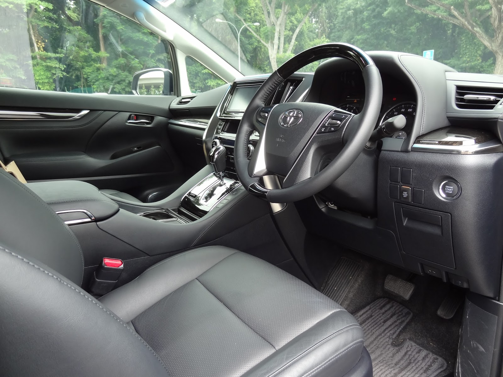 all new vellfire 2015 interior gambar grand avanza veloz shaun owyeong toyota 2 5 elegance car review tuesday november 10