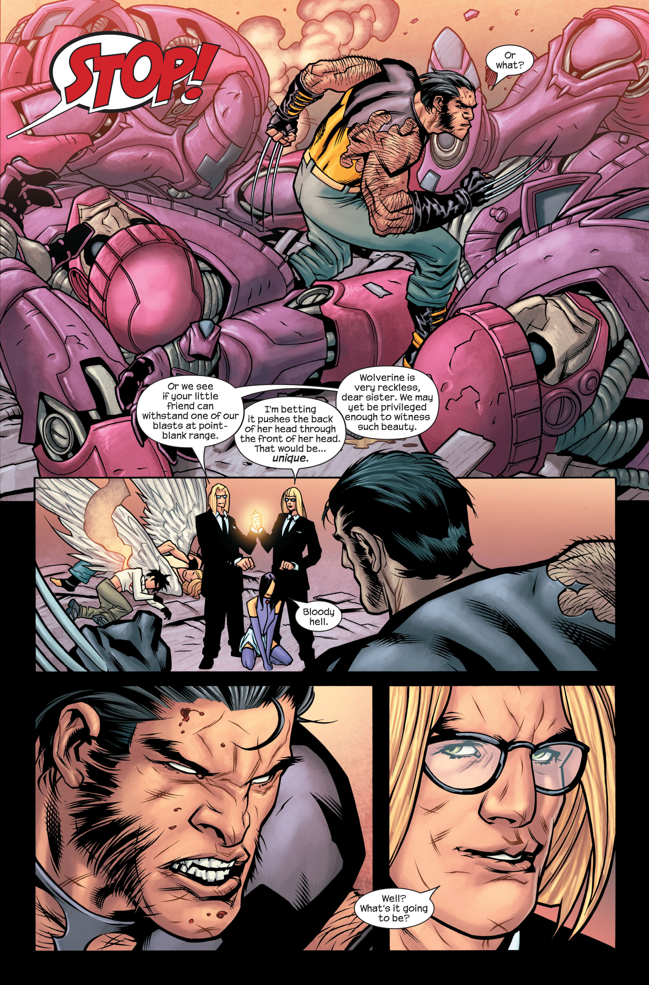 Read online Ultimate X-Men comic -  Issue #86 - 20