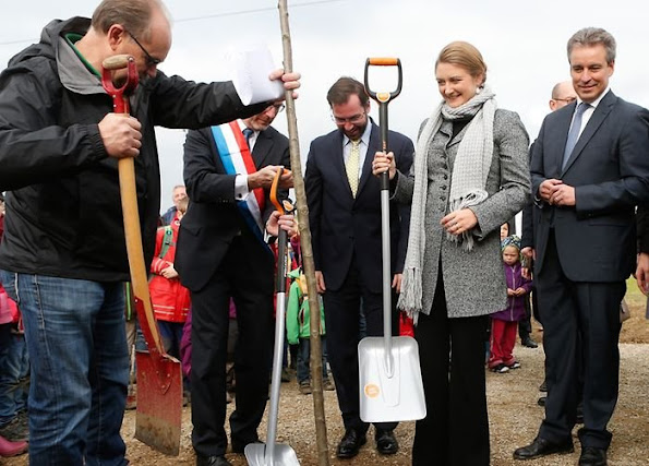 Crown Princess Stephanie and Crown Prince Guillaume of Luxembourg, Home and Life, Plant for the Planet