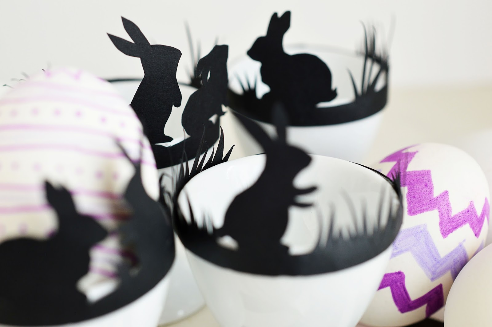 DIY Egg Cup Silhouette Band | Motte's Blog