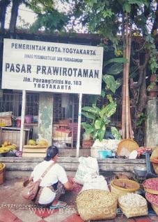 Pasar Prawirotaman Jogja