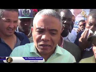 Francisco Fernández denuncia fueron utilizados delincuentes y criminales para hacer de todo en electoral SDN