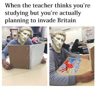 Invade Britain Meme