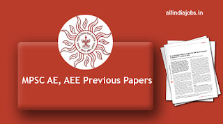 MPSC AE Previous Papers