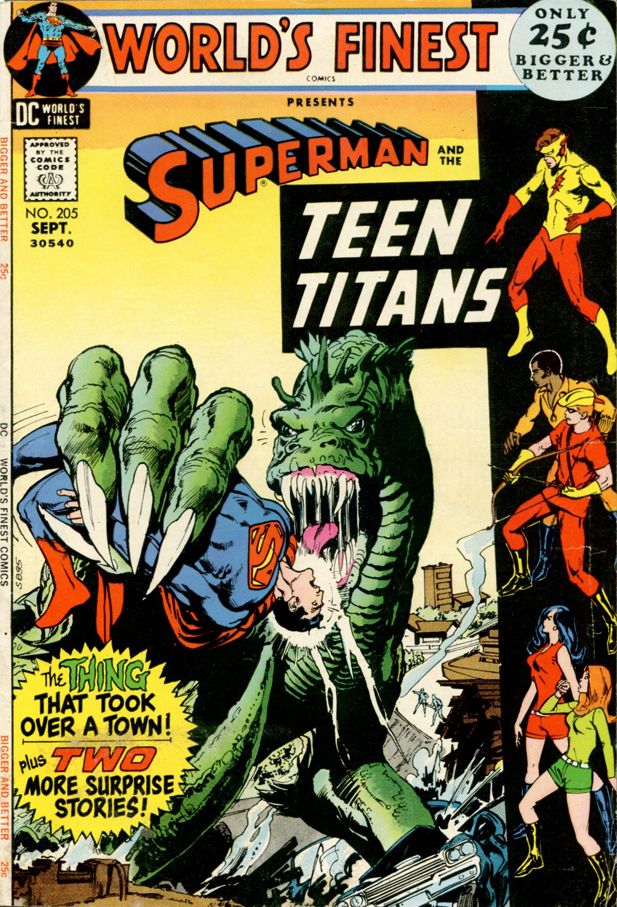 Read online World's Finest Comics comic -  Issue #205 - 1