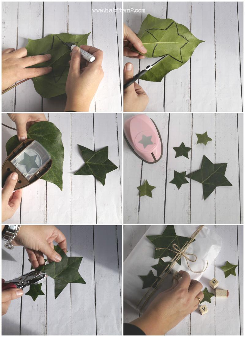 Inspiración para empaquetados navideños by Habitan2 | Ideas para envolver regalos en Navidad | Packaging handmade bonito para regalar en Navidad |
