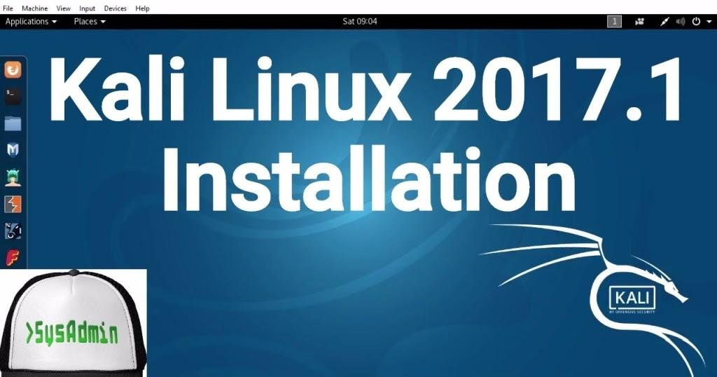 Kali Linux 2017.1 Installation on Oracle VirtualBox