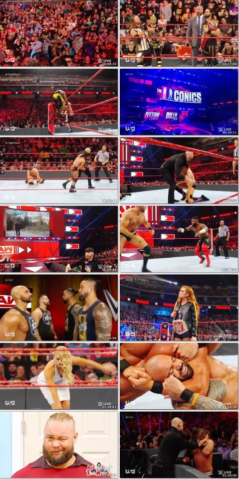 WWE Monday Night Raw 22 April 2019 720p HDRip 770MB Download